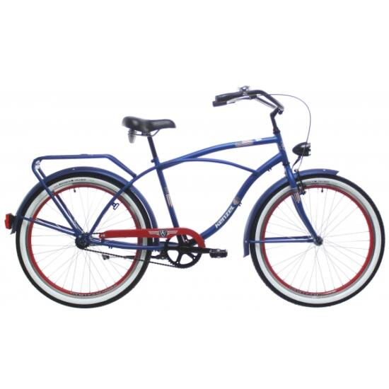 Kenzel Captain America cruiser kerékpár