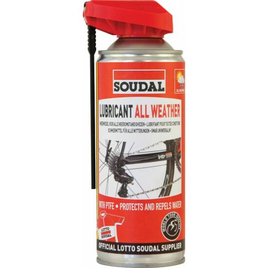 Soudal Lubricant All Weather PTFE uviverzális spray
